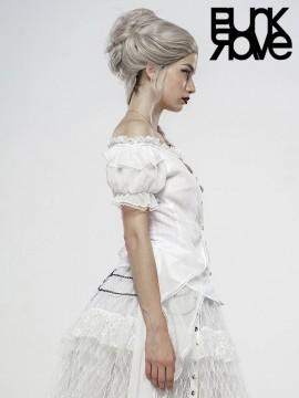 Lolita Broken Wing White Angel Shirt