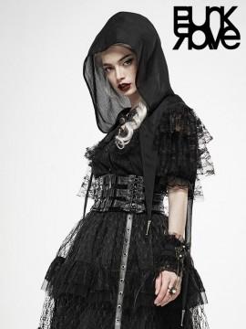 Lolita Dark Magic Lace Cloak