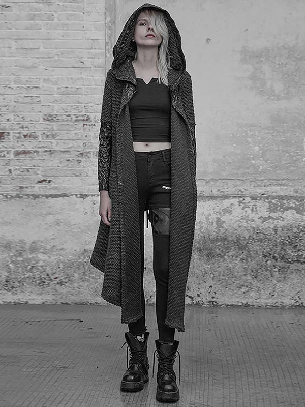 Gothic Weird Day Cardigan Hoodie
