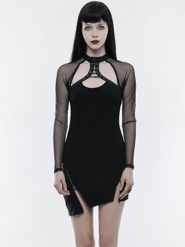 Punk Pendulum Sexy Little Black Dress