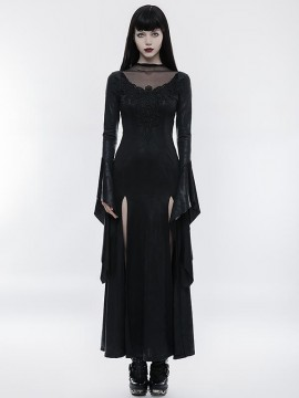 Gorgeous Gothic High Cross Goddess Dress