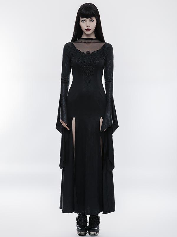 Gorgeous Gothic High Cross Goddess Dress