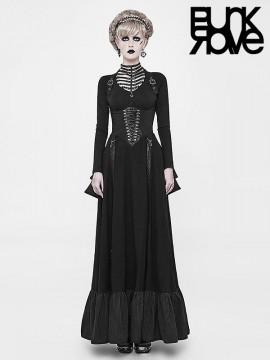 Steampunk Underbust Corset Two-Wear Bustle Dress