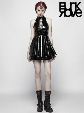 Punk Midnight Seduction Miniskirt Dress