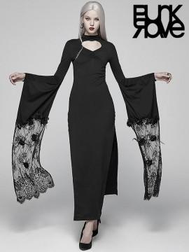 Gothic Kimono Maxi Dress
