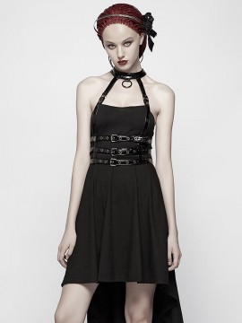 Punk Skeletal Spine Two-Wear Dress