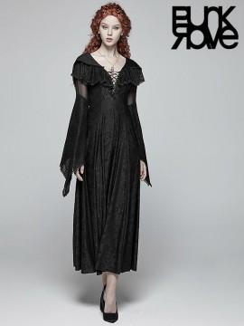 Sexy Goth Dress With Hood