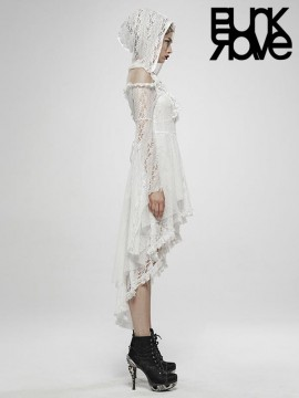 White Wilderness Witch Dress