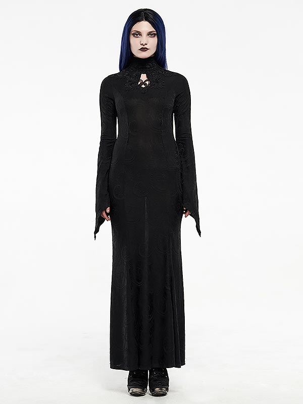 Gothic Goddess Long Dress