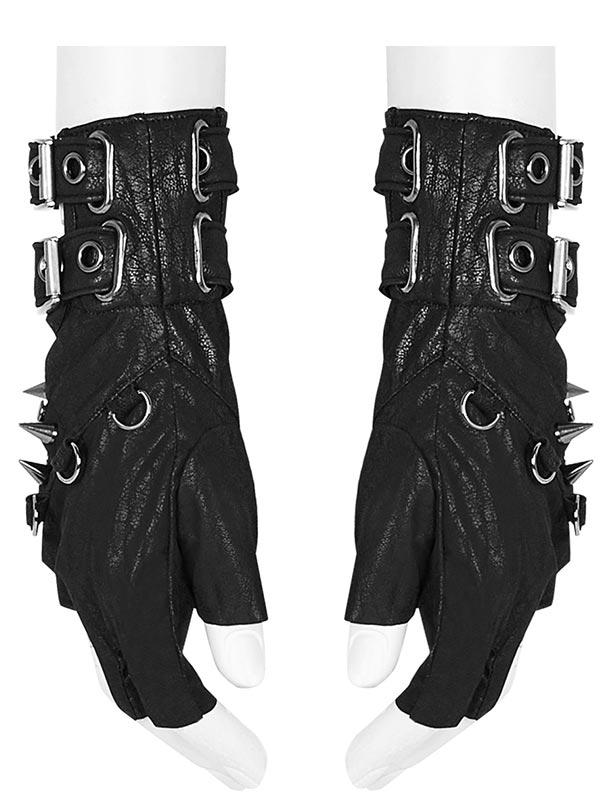 Night Shooter Heavy Metal Punk Gloves