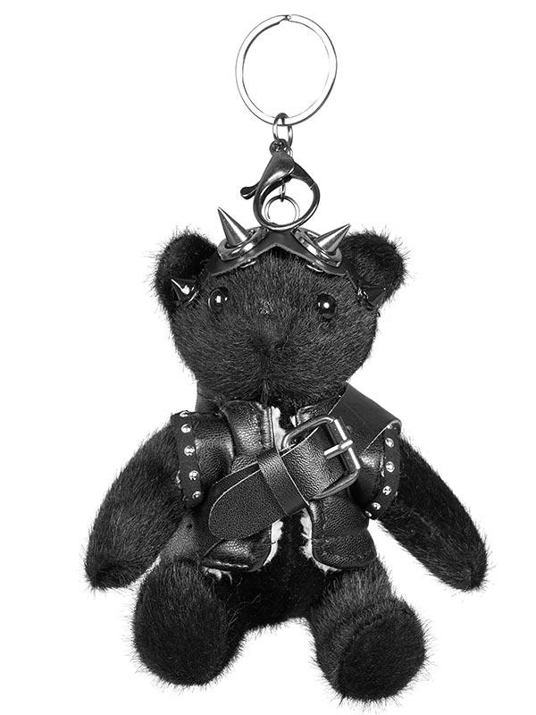 Cute Punk Black Bear