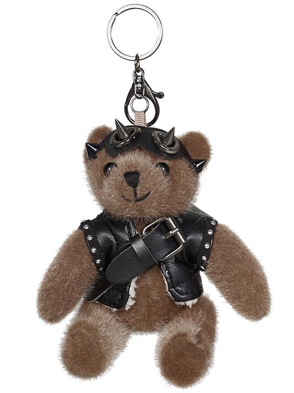 Cute Punk Brown Bear