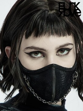 Punk Chain Link Face Mask