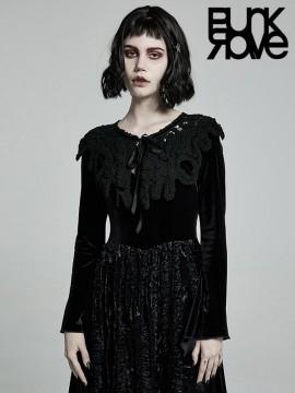 Gothic Weaved Overlay Shawl