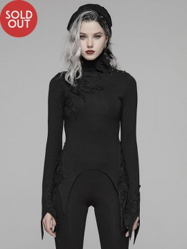 Dark Gothic Long Sleeve Top
