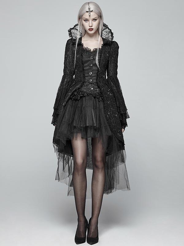 Gothic Queen's Court Dress Coat