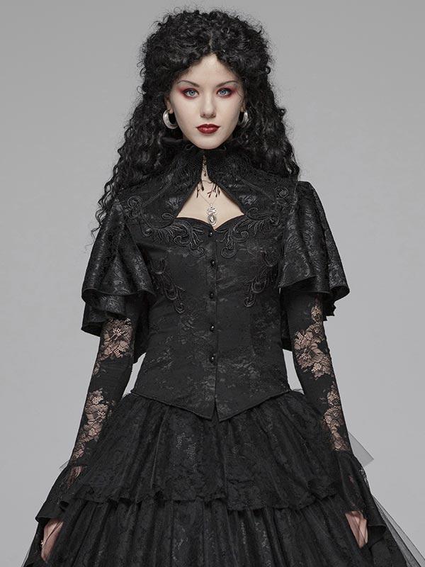 Gothic Shawl Shirt