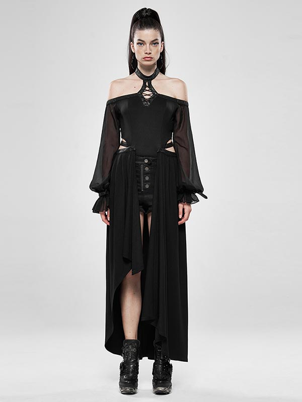 Dark Night Two-Wear Jumpsuit Skirt