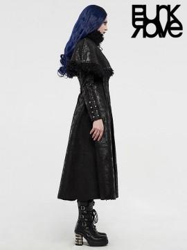 Gothic Two-Wear Detachable Cloak Long Coat