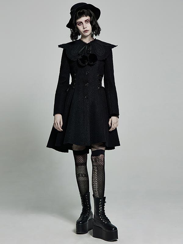 Gothic Lolita Two-Wear Short Coat