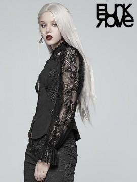 Gorgeous Gothic Lace Shirt