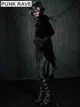 Unisex Luxurious Gothic Swallow Tail Coat
