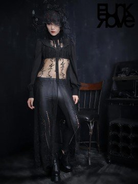 Gothic Lace Long Shirt