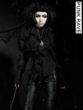 Gothic Noble Palace Long Sleeve Shirt - Black