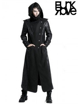 Mens Gothic Witch Long Coat