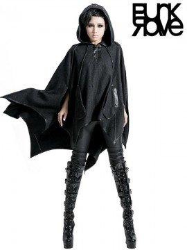 Gothic Bat Wing Hoodie Cloak