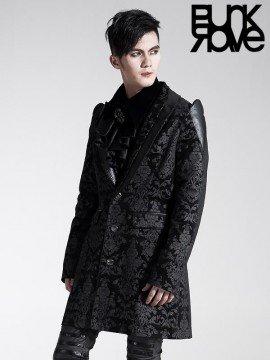 Mens Gothic Noble Palace Jacket - Black