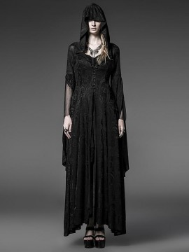 Gothic High Priestess Hooded Coat