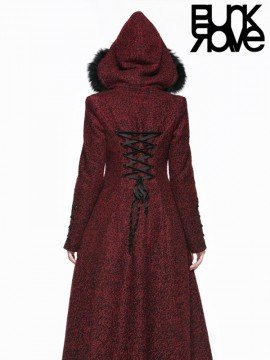 Gothic Little Red Riding Hood Coat