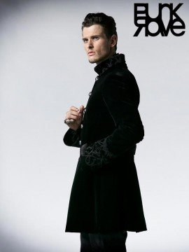 Mens Gothic Long Coat