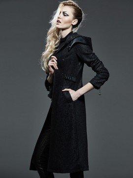 Ladies Punk Killer Long Coat