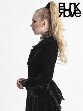 Victorian Gothic Lace Jacket