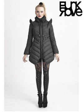 Gothic Flying Sleeves Winter Down Long Coat