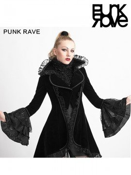 Gothic Forked Tail Long Coat