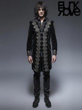 Mens Gothic Noble Palace Long Coat