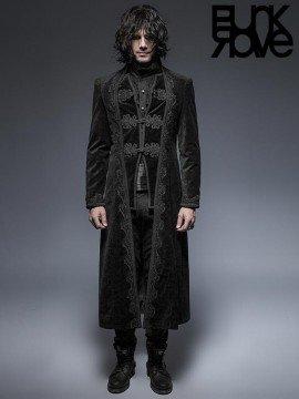 Mens Gothic Palace Court Long Coat