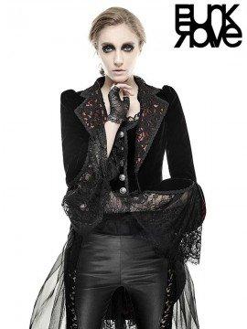 Gothic Flower De Luce Coat