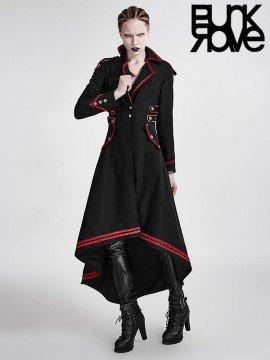 Gothic Military Uniform Long Coat