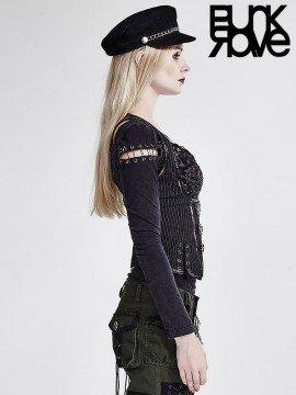 Steampunk Military Uniform Vest