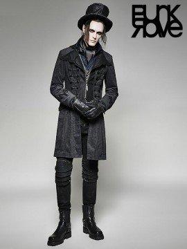 Mens Gothic Victorian Long Coat