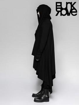 Mens Gothic Drawstring Hoodie Jacket