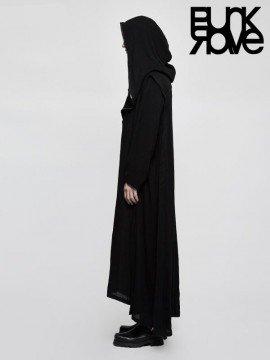 Mens Gothic Cross Long Jacket