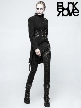 Gothic Steampunk Swallow Tail Jacket