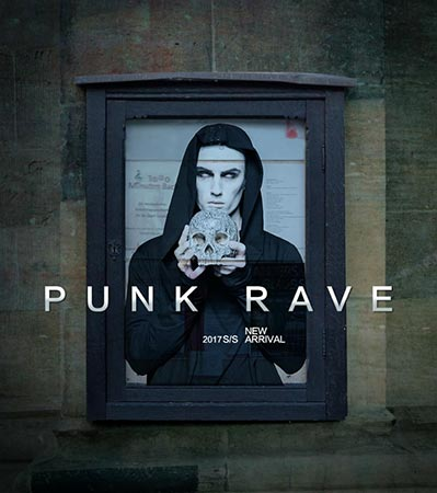 Punk Rave 2017 Mens Spring Summer Collection
