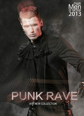 Punk Rave 2013 Mens Autumn and Winter Collection