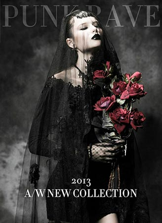 Punk Rave 2013 Womens Autumn and Winter Collection